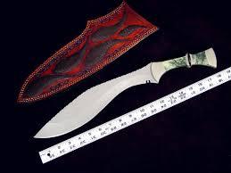 khukris kukris khukuris handmade knives by fisher