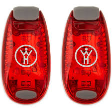 Safety Clothing Near Me Amazon Com Whole Human Led Safety Lights 2 Pack Red Sports