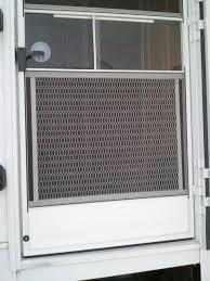 Overhead Screen Doors by Protect Screen Door From Dog Home Design