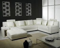 Best Sectional Sofa Set Images On Pinterest Leather - White leather living room set