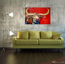 Cow Home Decor 2018 Home Decor Wall Cow Painting Cow Molly Moo Low