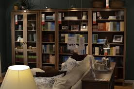 Bookcases With Sliding Glass Doors Bookshelves With Glass Doors Design U2014 Home Ideas Collection