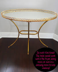 spring shopping u2013 my new gold mirrored table from build com