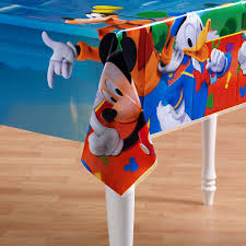 Mickey Mouse Table by Amazon Com Hallmark Mickey Table Cover Toys U0026 Games