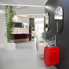 Red Bathroom Cabinets Contemporary Bathroom Vanity From Lasa Idea Small Bathroom Design