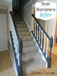 Refinish Banister My Humongous Diy Stairs Fail Kiss My List