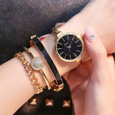 bracelet gold jewelry watches images Cacaxi luxury women watches 2017 alloy gold jewelry bracelet jpg