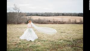 model with down syndrome stars in elegant wedding photo shoot cnn