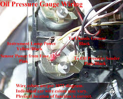 electrical what is the pin layout labels of this oil gauge