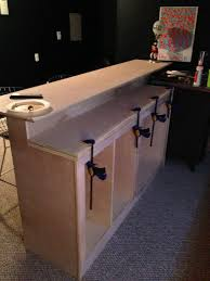 get tutorial of diy kitchen island images diy bar tutorial this sure would be cool in my basement