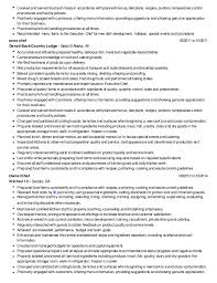 Resume Examples For Cooks by Resume Example 47 College Of Culinary Resume Examples Chef Resume