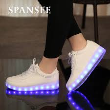 light up tennis shoes for adults female led shoes light up sneakers boy girls glowing sneakers