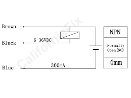 pic how to connect a inductive proximity sensor switch npn dc6