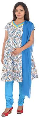 ziva maternity wear ziva maternity wear women cotton salwar suits zmn1510 l white