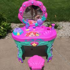 Little Mermaid Desk Find More Ariel Little Mermaid Play Vanity For Sale At Up To 90