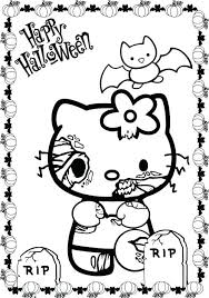 Scary Halloween Coloring Pages Tlink Me Scary Coloring Paes