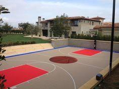 Backyard Basketball 2001 Home Basketball Court With Slide Basketball Court Indoor