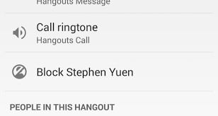 hangouts update apk hangouts update rolling out adds individual contact