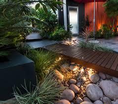 Rock Garden Design Ideas  To Create A Natural And Organic Landscape - Backyard river design