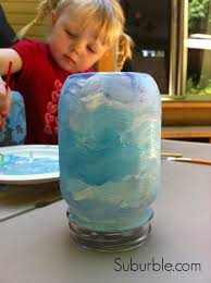 crafty kids diy mason jar lanterns suburble