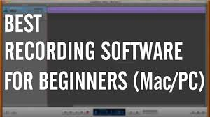 best music recording software for beginners mac pc youtube