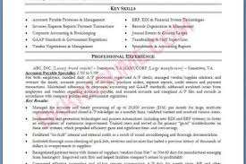 Sample Of Accounts Payable Resume by Payable Accounts Payable Resume 3 Accounts Receivable Job Resume