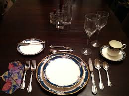 Set A Table by Cravings Table Setting Made Easy Or Simple Step By Step