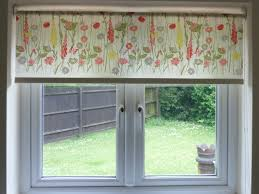 interior white roller blinds for kitchen windowa with beautiful