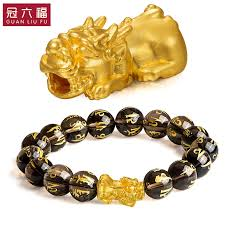 gold lucky bracelet images Usd 180 00 crown six blessing 3d hard gold gold gold bracelet men jpg