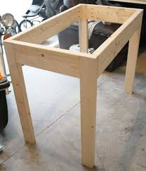 how to build a table base base built diy kitchen islandle modern how to build plans for into