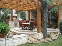 25 best backyard images on pinterest deck stairs stone patios