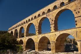 free images building france landmark viaduct pont du gard