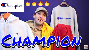 champion clothing haul affordable hoodies 90 u0027s back youtube