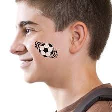 tribal football tattooforaweek temporary tattoos largest