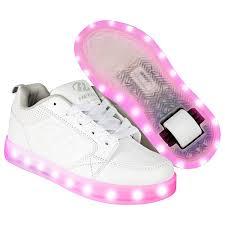 heelys light up shoes heelys premium 1 lo light up triple white heelys shoes heelys