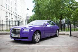 purple rolls royce credico uk collaborates with together for short lives to raise