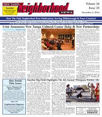 new tampa neighborhood news volume 24 issue 25 dec 2 2016 by