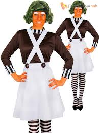 oompa loompa costume oompa loompa costume adults and the chocolate