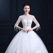 white wedding gowns christian white wedding gown engagement party sleeves be