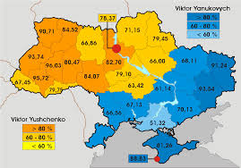 Presidential Election Map 2012 by Analyzing Ukrainian Elections Part 1 The Politikal Blog