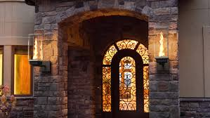 outdoor gas lantern wall light outdoor gas ls and lighting tempest torch