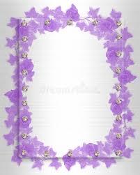 Lavender Roses Wedding Invitation Lavender Roses Stock Image Image 9646931
