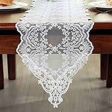 table runner lace table runner in ivory 12 wide x 74 home