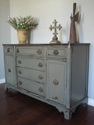 furniture gorgeous bedroom decoration using 6 drawer gray painted