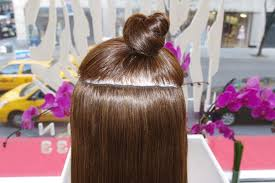 sewed in hair extensions clip in hair extensions also available in sew in and micro ring