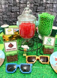 minecraft party supplies minecraft party ideas munchkins