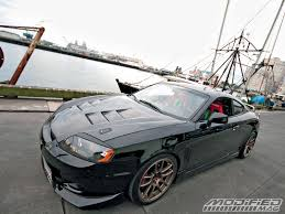2003 hyundai tiburon turbo 2003 hyundai tiburon gt modified magazine