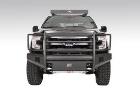 Ford F150 Truck Bumpers - black steel elite front bumper fab fours