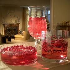 floating cranberry centerpiece hgtv