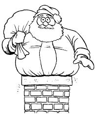 chrismas coloring pages christmas santa coloring pages getcoloringpages com